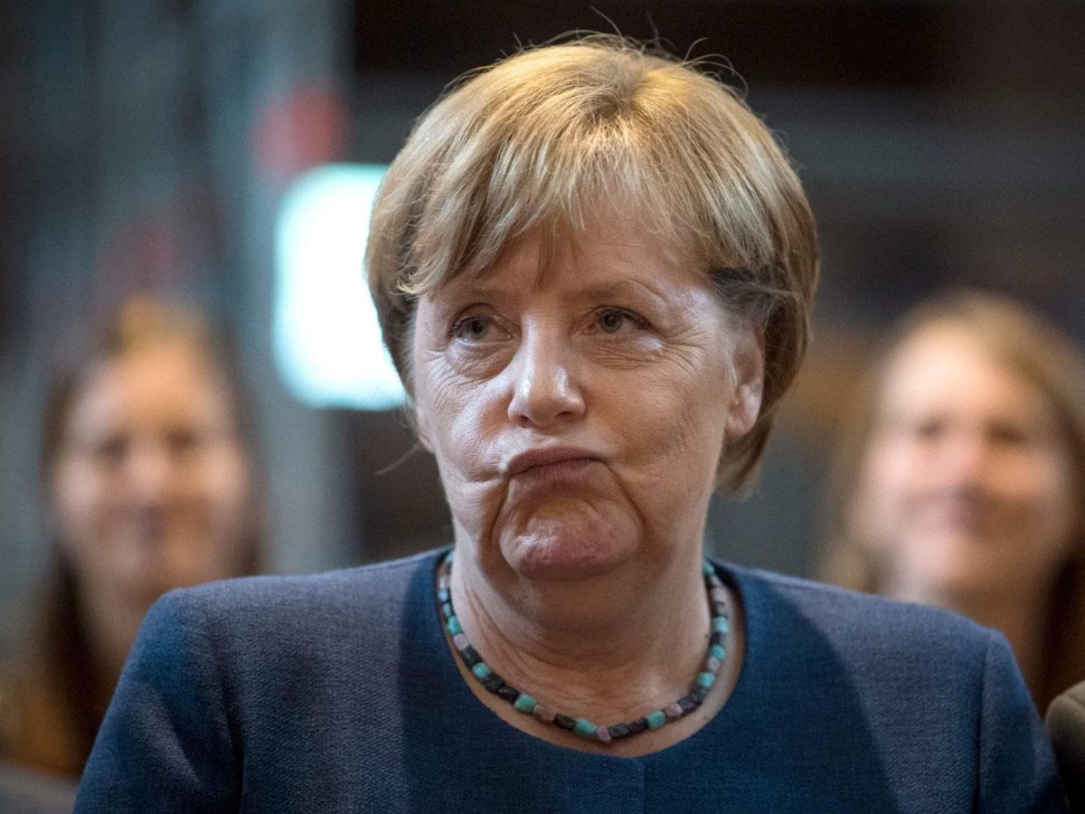 Ангела Меркель «вышла втираж»