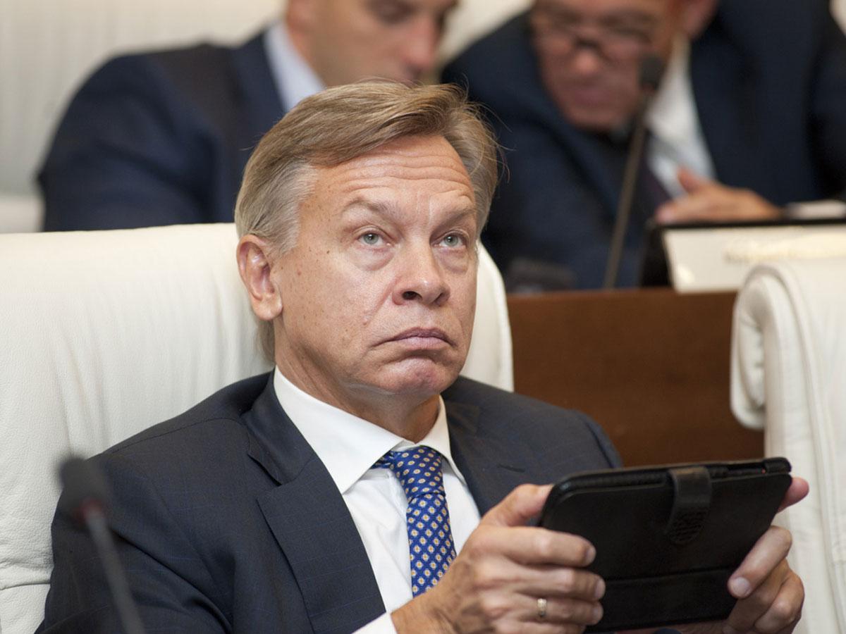 Пушков высмеял угрозы Киева «задавить» Россию