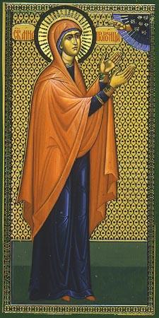 Святая праведная пророчица Анна
