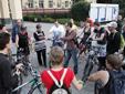 Велопробег по маршаковским местам закончился в синагоге
