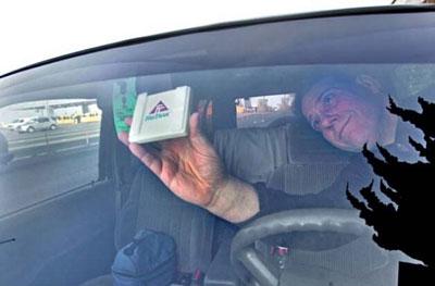 Чип для оплаты на дорогах / sfgate.com
