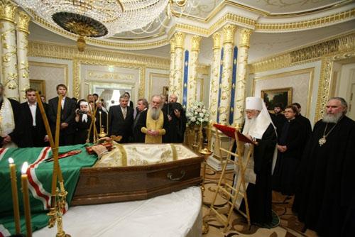 О непонятном и неразъясненном при похоронах Святейшего