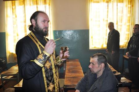 Интервью со штатным тюремным священником из Белоруссии протоиереем Георгием Тюхловым