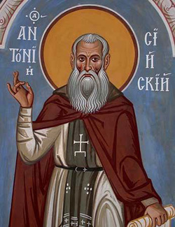 Преподобный Антоний Сийский