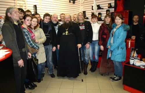 О. Сергий (Рыбко) прорвался в Рязань