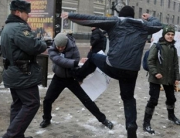 Воронежцы разогнали содомитов