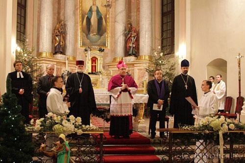 В Минске прошли экуменические моления с участием православных