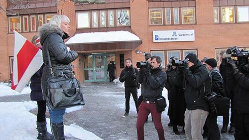 Социальные службы Швеции отняли у белорусской активистки оппозиции Ольги Класковской семимесячного сына и увезли ребенка в неизвестном направлении.