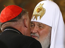 Патриарху Кириллу нравится динамика сотрудничества с католиками