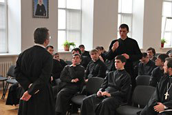 В Оренбургской семинарии учит ксендз