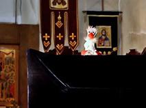 В храме о. Александра Сорокина отметили Неделю о блудном... гусе