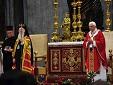 Высокопоставленные православные экуменисты собирались на папскую интронизацию