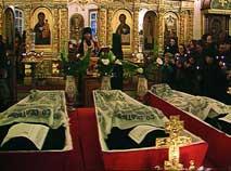 Преподобные мученики Оптинские, молите Бога о нас!