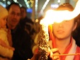 Благодатный огонь сошел в Иерусалиме накануне православной Пасхи (видео)