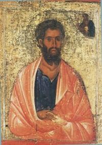 Святой апостол Иаков Зеведеев, один из 12 апостолов