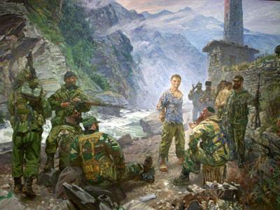 Мученик воин Евгений Родионов