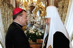 Кардинал Пецци считает, что до соединения православных с католиками остался один шаг