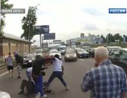 Кавказцы поплатились за хамство на дороге